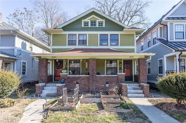 4921 N Broadway, Indianapolis, IN 46205 (MLS #21761492) :: AR/haus Group Realty