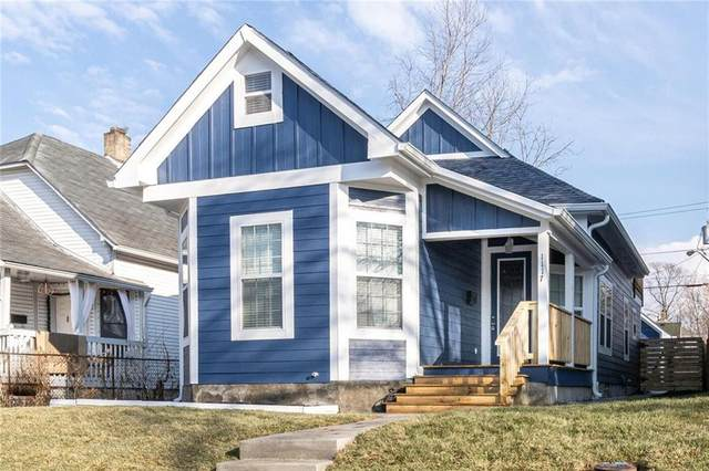 1117 Larch Street, Indianapolis, IN 46201 (MLS #21761517) :: Realty ONE Group Dream