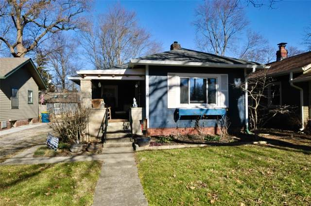 406 E 50TH Street, Indianapolis, IN 46205 (MLS #21762554) :: AR/haus Group Realty