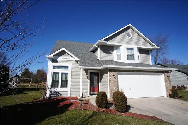 1240 Bull Run N Drive, Greenwood, IN 46143 (MLS #21762558) :: The Indy Property Source