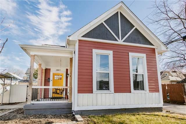 1445 Kennington Street, Indianapolis, IN 46225 (MLS #21762566) :: Ferris Property Group
