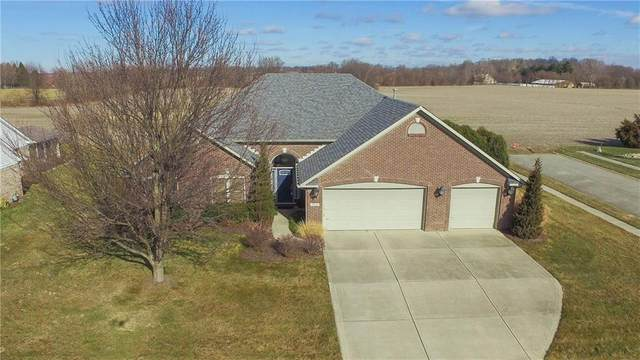 7210 Sunset Point Drive, Indianapolis, IN 46259 (MLS #21762626) :: David Brenton's Team