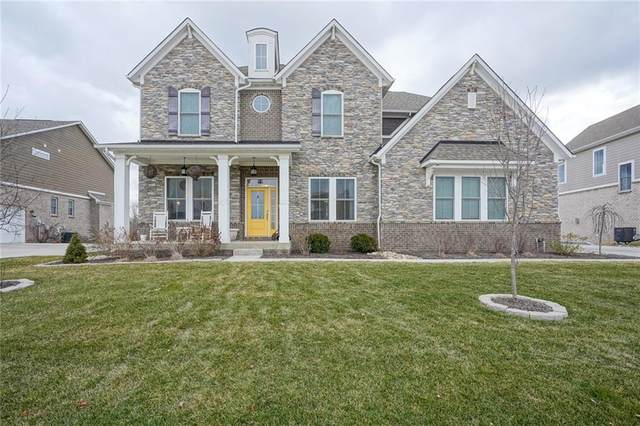 15466 Dunrobin Drive, Noblesville, IN 46062 (MLS #21762641) :: Mike Price Realty Team - RE/MAX Centerstone
