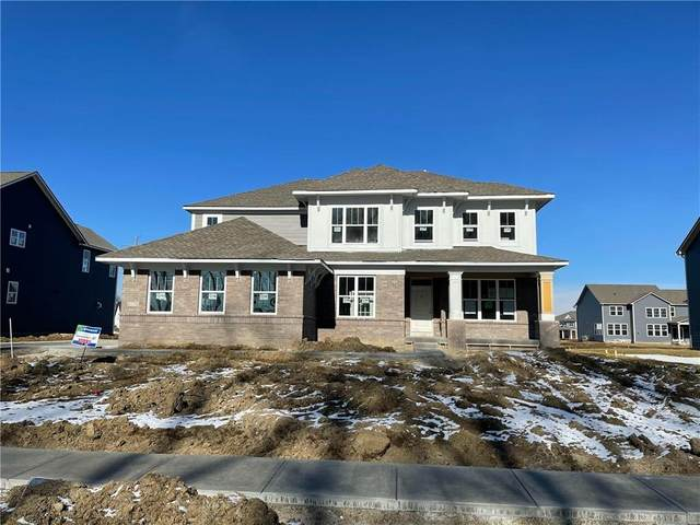 8156 Oxford Trace, Zionsville, IN 46077 (MLS #21762673) :: The Evelo Team