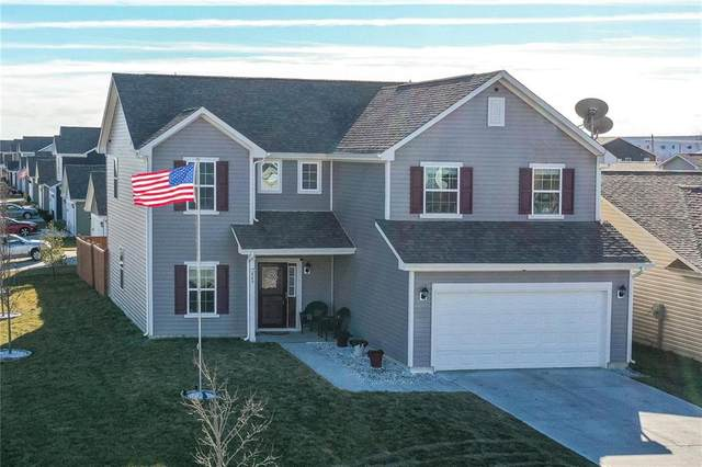 849 Fieldstone Drive, Franklin, IN 46131 (MLS #21762793) :: The Indy Property Source