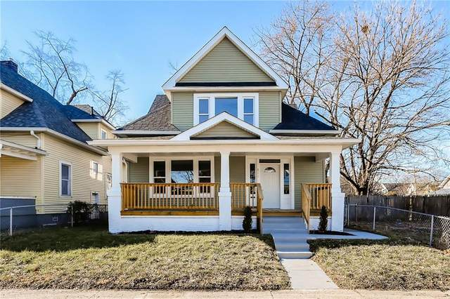 814 S Randolph Street, Indianapolis, IN 46203 (MLS #21762845) :: The Indy Property Source