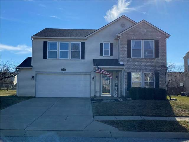 10443 Mohawk Trail, Indianapolis, IN 46234 (MLS #21762913) :: The Evelo Team