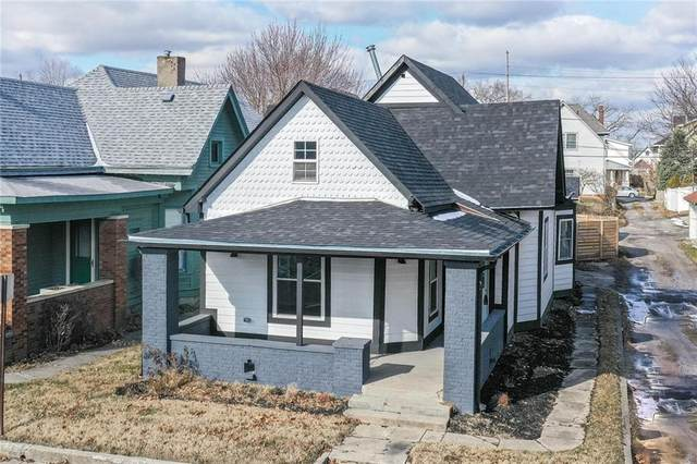 1222 E New York Street, Indianapolis, IN 46202 (MLS #21763011) :: Dean Wagner Realtors
