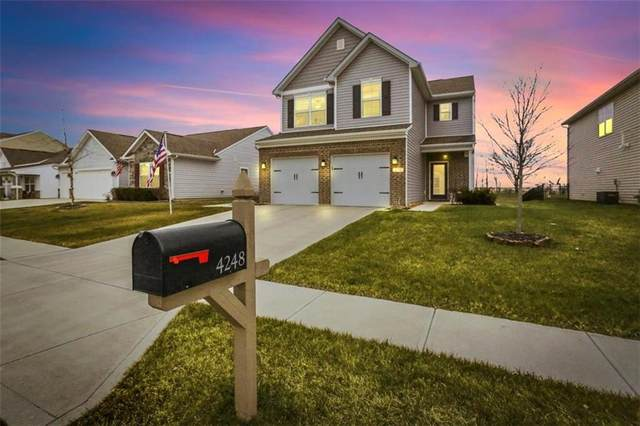 4248 Trillium Way, Whitestown, IN 46075 (MLS #21763033) :: Realty ONE Group Dream