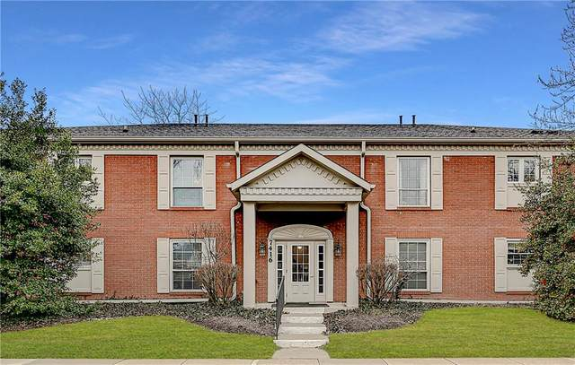 7416 King George Drive C, Indianapolis, IN 46260 (MLS #21763075) :: Realty ONE Group Dream