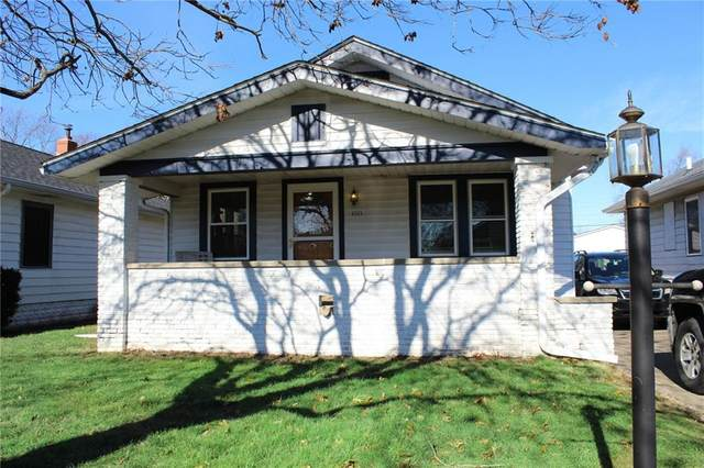 4948 W 12th Street, Speedway, IN 46224 (MLS #21763092) :: AR/haus Group Realty
