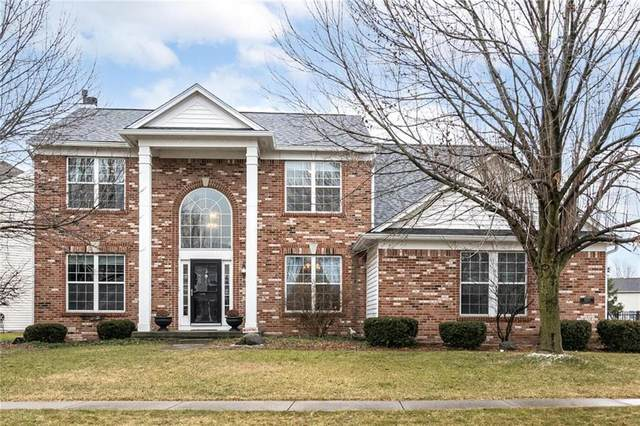 12375 Castlestone Drive, Fishers, IN 46037 (MLS #21763194) :: Mike Price Realty Team - RE/MAX Centerstone
