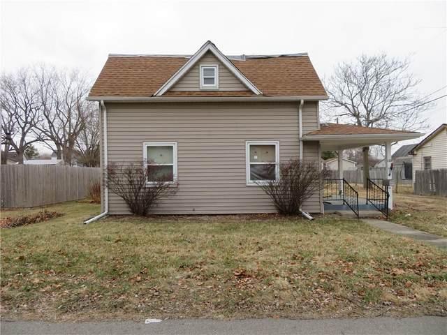 110 E Jackson Street, Alexandria, IN 46001 (MLS #21763250) :: The ORR Home Selling Team