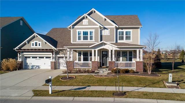 14990 Dawnhaven Drive, Westfield, IN 46074 (MLS #21763281) :: David Brenton's Team