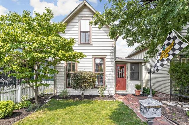 672 E Arch Street, Indianapolis, IN 46202 (MLS #21763289) :: Dean Wagner Realtors