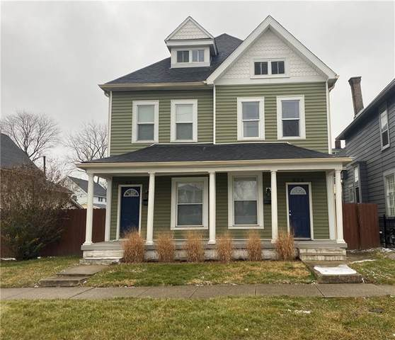 923 S State Avenue, Indianapolis, IN 46203 (MLS #21763320) :: Pennington Realty Team
