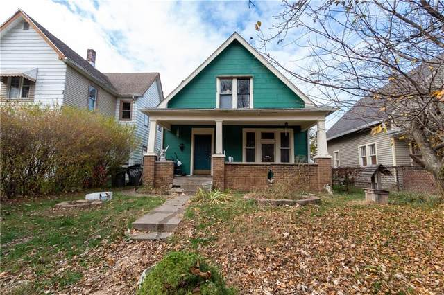 1204 N Dearborn Street, Indianapolis, IN 46201 (MLS #21763390) :: Ferris Property Group