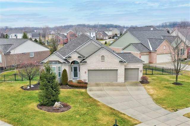 9018 Stonewick Circle, Zionsville, IN 46077 (MLS #21763543) :: Mike Price Realty Team - RE/MAX Centerstone