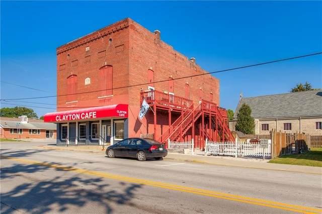 76 E Kentucky Street, Clayton, IN 46118 (MLS #21763606) :: The Evelo Team