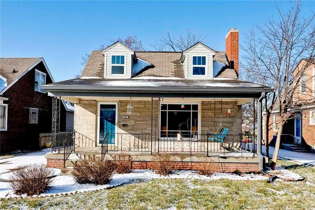 1450 N Leland Avenue, Indianapolis, IN 46219 (MLS #21763660) :: Realty ONE Group Dream
