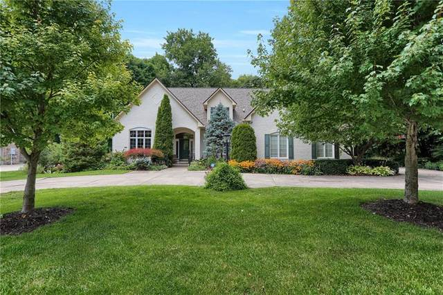 3940 Oakleaf Drive, Zionsville, IN 46077 (MLS #21763800) :: The Indy Property Source