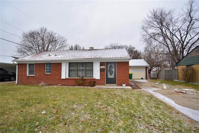 5130 Ford Street, Speedway, IN 46224 (MLS #21763951) :: David Brenton's Team