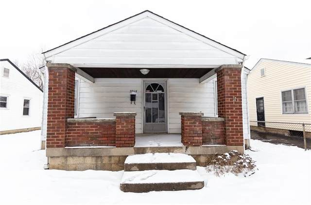 2014 Wallace Avenue, Indianapolis, IN 46218 (MLS #21763997) :: Richwine Elite Group