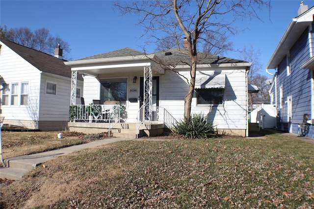 5016 W 13th Street, Speedway, IN 46224 (MLS #21764116) :: David Brenton's Team