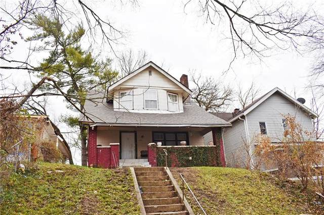 1315 W 34th Street, Indianapolis, IN 46208 (MLS #21764157) :: Dean Wagner Realtors