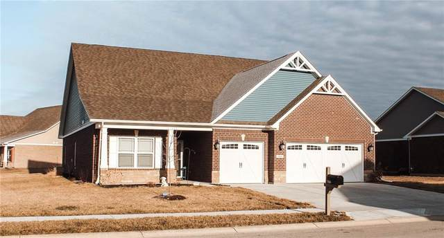 3166 S Courtney Drive, New Palestine, IN 46163 (MLS #21764253) :: Dean Wagner Realtors