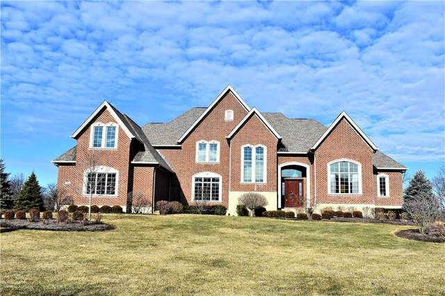 12072 Hawthorn Ridge, Fishers, IN 46037 (MLS #21764262) :: Mike Price Realty Team - RE/MAX Centerstone