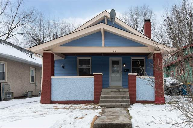 26 S Gladstone Avenue, Indianapolis, IN 46201 (MLS #21764324) :: The Indy Property Source