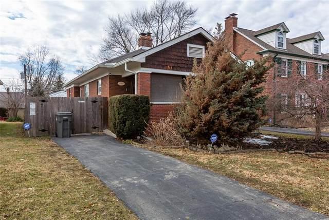 124 N Pasadena Street, Indianapolis, IN 46219 (MLS #21764505) :: Heard Real Estate Team | eXp Realty, LLC