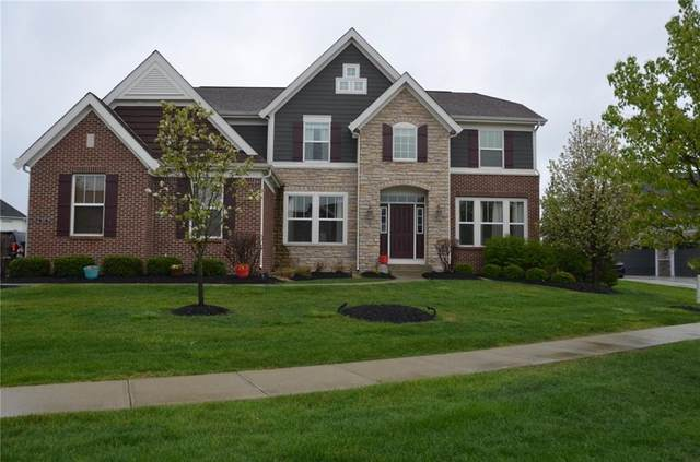 1185 Clearwell Drive, Greenwood, IN 46143 (MLS #21764654) :: Richwine Elite Group