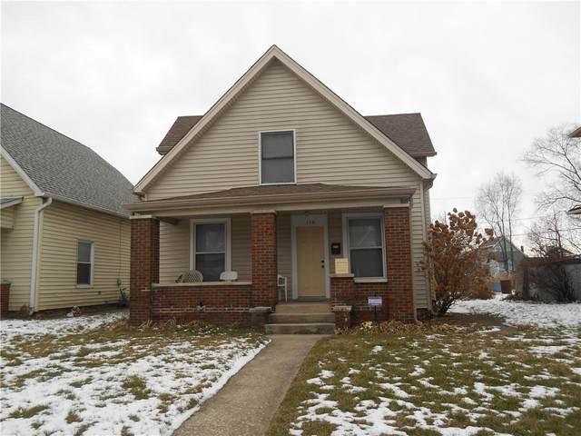 110 S Elder Avenue, Indianapolis, IN 46222 (MLS #21764706) :: Dean Wagner Realtors
