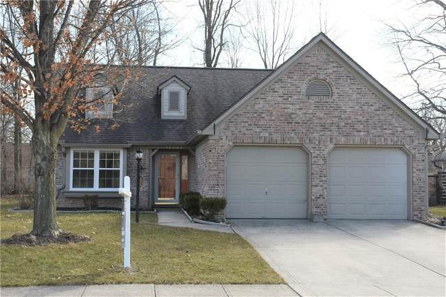 11321 Cherry Blossom East Drive, Fishers, IN 46038 (MLS #21764855) :: Dean Wagner Realtors