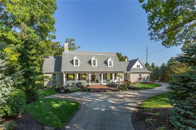 5176 Upperwood Court, Indianapolis, IN 46250 (MLS #21764984) :: The Indy Property Source