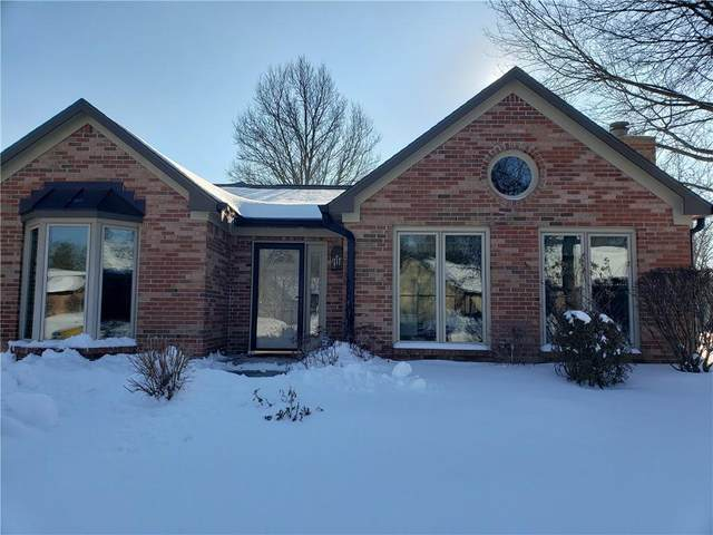 1758 Cloister Drive, Indianapolis, IN 46260 (MLS #21765351) :: Dean Wagner Realtors
