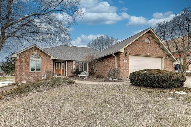 1404 Park Meadow Drive, Beech Grove, IN 46107 (MLS #21765455) :: Mike Price Realty Team - RE/MAX Centerstone