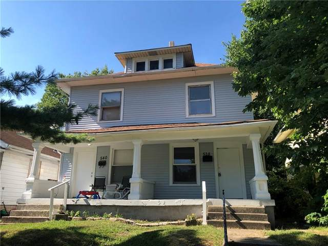 540 Udell Street, Indianapolis, IN 46208 (MLS #21765490) :: Heard Real Estate Team | eXp Realty, LLC