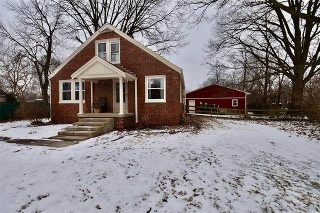 235 N Whitcomb Avenue, Indianapolis, IN 46224 (MLS #21765564) :: Dean Wagner Realtors