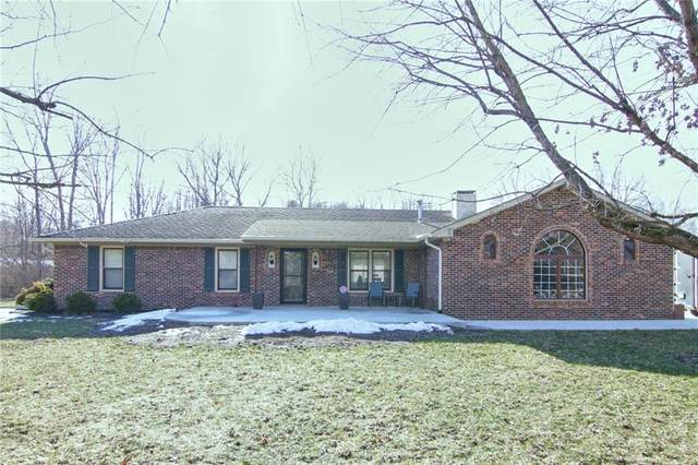 349 Green Hills Court, Greenwood, IN 46142 (MLS #21765748) :: Richwine Elite Group