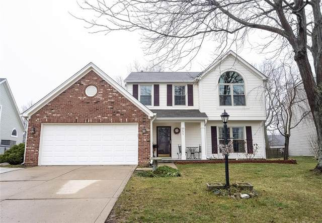 9675 Glowing Flame Drive, Fishers, IN 46038 (MLS #21765761) :: Mike Price Realty Team - RE/MAX Centerstone