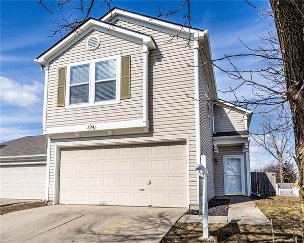 394 Kimbrough Drive, Greenwood, IN 46143 (MLS #21765820) :: The Indy Property Source