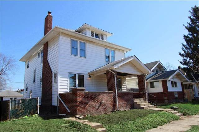 413 N Grant Avenue, Indianapolis, IN 46201 (MLS #21765893) :: Mike Price Realty Team - RE/MAX Centerstone
