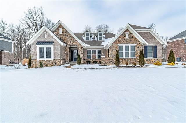 4618 Kettering Place, Zionsville, IN 46077 (MLS #21765912) :: The Indy Property Source