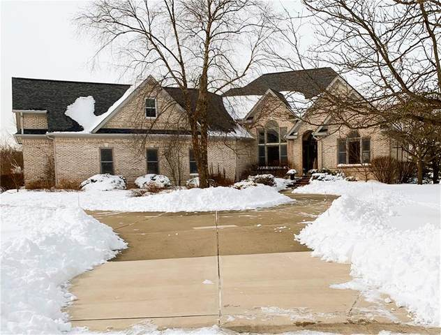 10127 Summerlakes Drive, Carmel, IN 46032 (MLS #21766138) :: David Brenton's Team