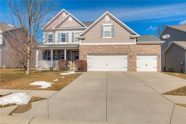 6114 Golden Eagle Drive, Zionsville, IN 46077 (MLS #21766171) :: The Indy Property Source