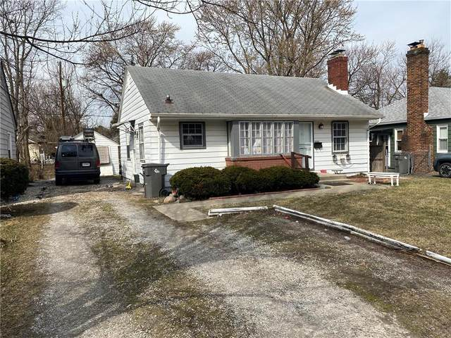1802 N Emerson Avenue, Indianapolis, IN 46218 (MLS #21767376) :: The Evelo Team