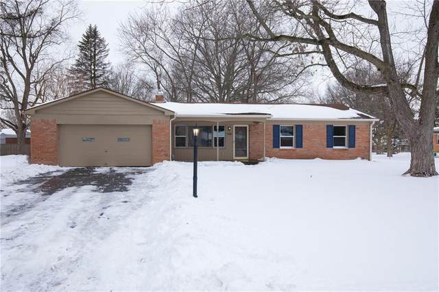 710 Chapel Hill W Drive, Indianapolis, IN 46214 (MLS #21767388) :: The Evelo Team